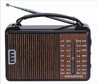 جولون راديو RX-608ACW - بني يعمل بالكهرباء والحجارة