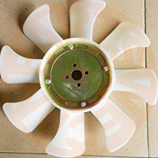 FidgetGear Fan for Blade 129916-44740 YANMAR 4TNV88 Engine Excavator AFTERMARKET Parts