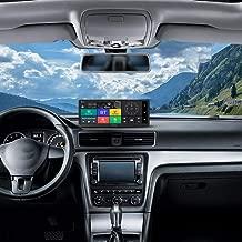 12V Navegación GPS 3G Android 5.1 WiFi FHD 1080P Lente Dual Vigilancia de estacionamiento BT ADAS GPS del Coche DVR Cámara de navegador