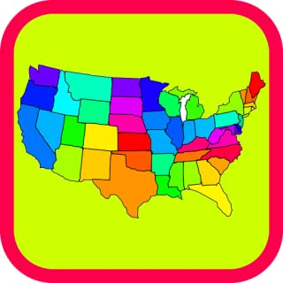 U.S. State Capitals!!! Learn the Capital of Each of the 50 United States of America! Perfect USA Geography Games Quiz & Mobile Trivia App, Free and Fun Facts for Kids!