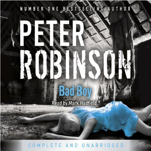 Bad Boy audiobook cover art
