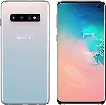 Samsung Galaxy S10 SM-G9730 - International Version - No Warranty in The USA - GSM ONLY, NO CDMA (Prism White, 128GB/8GB)