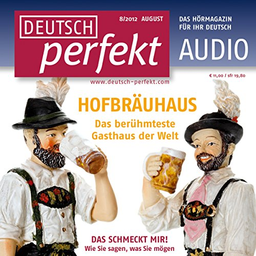 Deutsch perfekt Audio. 8/2012 cover art