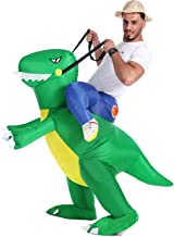 Inflatable Dinosaur T-Rex Costume Fancy Dress Halloween Blow up Costumes Adult/Kids