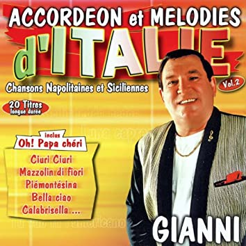 Chansons Napolitaines Et Siciliennes Vol. 2 (Accordéon Et Mélodies)