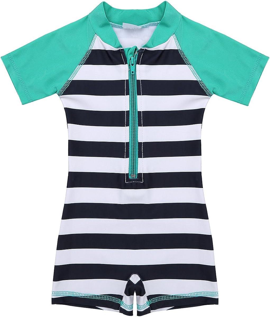 MSemis Infant Baby Boys Girls Rash Shark Printed Stripe Limited Under blast sales time trial price Pattern