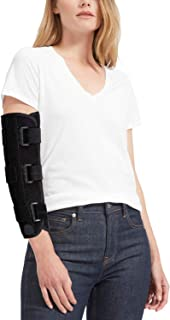 Elbow Support Splint Brace for Cubital Tunnel Syndromean Pain Relief, Support Brace for fix Elbow, Prevent The Elbow from Excessive Bending at Night (L)