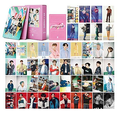 BTS LOMO Cards 54Pcs BTS Map of The Soul 7 Card BTS Dynamite Tarjeta de álbum BANTAN...