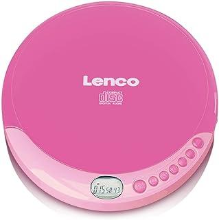 Lenco CD-011 Portable CD Player/Walkman/Diskman/CD Walkman
