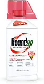 Roundup Weed & Grass Killer Concentrate Plus Value Size, 36.8 oz.