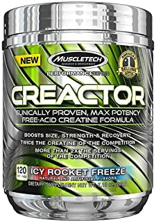 Creator Creatine Formula ICY Rocket Freeze (120 Servings)