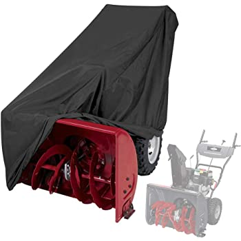 Himal Snow Thrower Cover-Heavy Duty Polyester,Waterproof,UV Protection,Universal Size for Most Electric Two Stage Snow Blowers with Carry Bag
