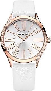 Elegante orologio da donna al quarzo analogico impermeabile da donna