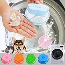 4PC Washing Machine Universal Float, Filter Bag Laundry Ball, Floating Pet Fur Catcher Filtering Hair Removal Device Wool Cleaning Supplies