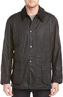 barbour wax jacket navy