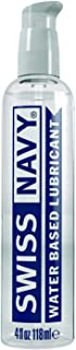Swiss Navy Premium Water Based Lubricant, 4 oz, MD Science Lab