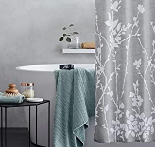Project 62 Floral Print Shower Curtain Light Grey/White 72