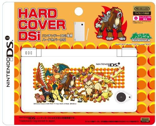 DSi Jupiter Official Pokemon Black & White Hard Cover-Entei & Fire Type