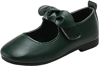 [Lieteuy] キッズ 靴 ガールシューズ マジックテープ 滑り止め つめ先保護 優雅 人気 可愛い 蝶結び 入学式 履き心地いい 入園 入学 卒園 卒業 七五三 オシャレ上品 お姫様シューズ 子供サンダル 女の子靴 ベビーシューズ