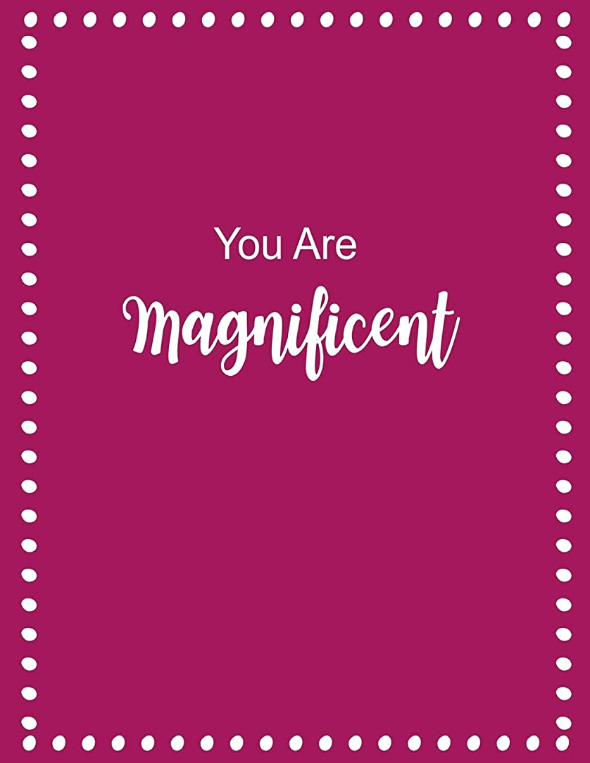 特に優勢を必要としていますYou Are Magnificent: Inspirational Pink Notebook Internet Username and Password Book for Elderly & Low Vision Journal ~ A-Z Alphabetical Organizer