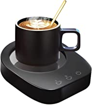 Coffee Mug Warmer-Desktop Beverage Warmer-Electric Cup Warmer Tea Water Cocoa Milk for Office Desk and Home Use 110V 3...