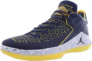 Air Jordan XXXII 32 Low Michigan Wolverines Basketball Shoes AA1256-405