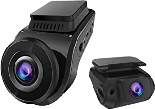 Vantrue S1 4K Dash Cam, Dual 1080P Front and Rear Dash Camera with Bulit in GPS, Single Front 2160P, Capacitor, Sony Night...