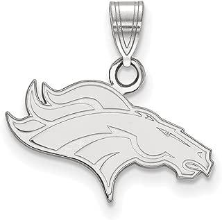 NFL Sterling Silver Denver Broncos Small Pendant