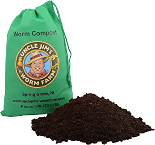 """Uncle Jim`s Worm Farm """"Real Worm Compost 4lbs"""