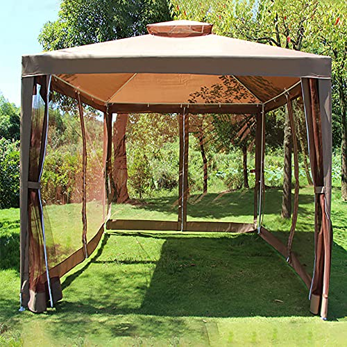 Carpa de Jardín 3 x 3m Plegable, Cenador de Jardín Carpas de...