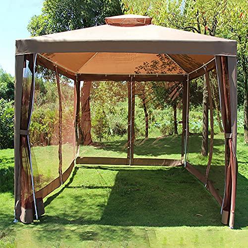 Carpa para Fiesta, Plegable Carpa para Exterior Cenador para Jardín Terraza Fácil de desplegar para Jardín Playa Fiesta