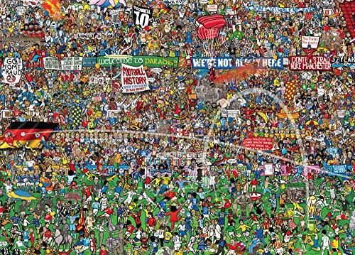 Historia del fútbol Copa Mundial de 3000 Piezas de Rompecabezas Importado, Juguete Renova