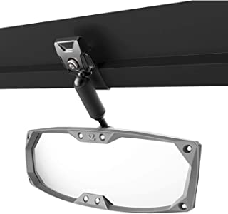Seizmik Black Halo-R Rearview Mirror with ABS Bezel Pro-Fit for Can-Am 2016-2018Defender/Defender Max HD5/8/10, and Polaris 2015-2018 Ranger Models 18058