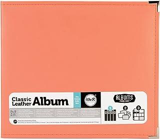 Nous R Memory Keepers American Crafts 660906Classique Anneau en D Album Scrapbooking, 30,5x 30,5cm, Corail,
