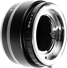 Runshuangyu Lens Mount Adapter for Voigtlander Retina DKL Lens to Sony NEX E-Mount A7 NEX-7 A7 A7S A7R A7II A7SII A7RII A7III A7RIII A7SIII A9 A6500 A6300 A6000 A5100 A5000 A3500 NEX-FS700 VG30 VG900