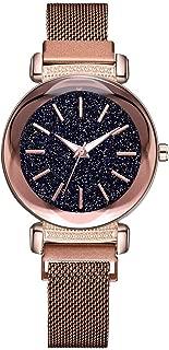 Watch,Becoler Fashion Simple Dial Mesh Belt Quartz Watch Magnetic Buckle Ladies Watch