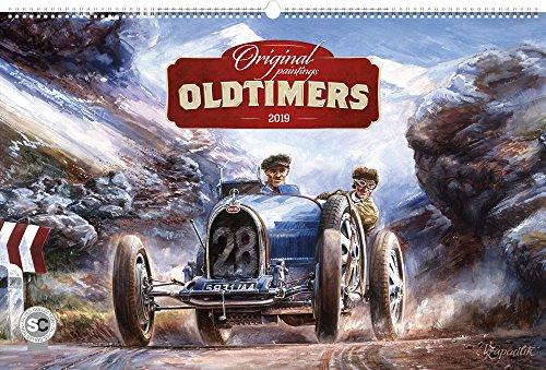 Oldtimers Calendar - Calendars 2018 - 2019 Wall Calendar - Photo Calendar - 12 Month Calendar by Presco Group