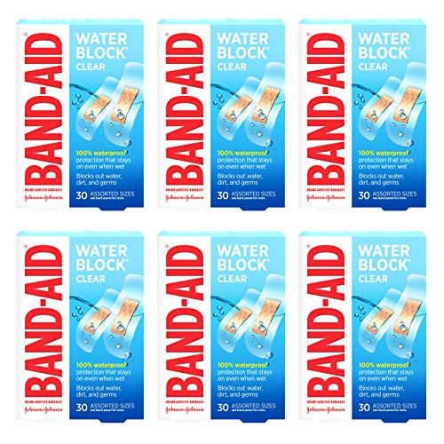 Band-Aid Brand Water Block Clear Wa…