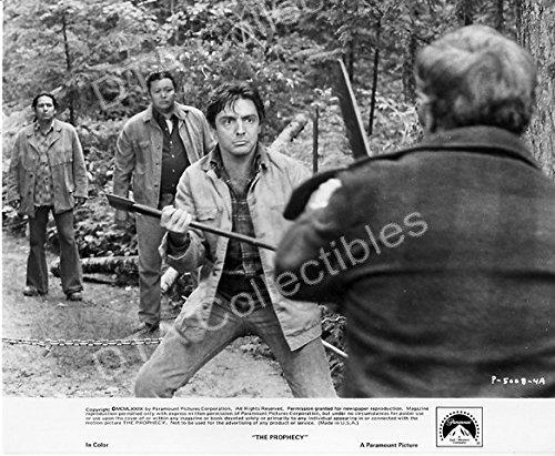 "MOVIE PHOTO: PROPHECY-1979-ARMAND ASSANTE-B&W 8""x10"" MOVIE STILL FN"