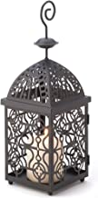 Gifts & Decor Moroccan Birdcage Iron Candle Holder Hanging Lantern