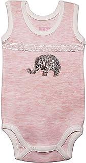 LADI Newborn Baby Bodysuit jumpsuit Romper Sleeveless clothes Shiny Elephant Boy Girl Unisex Kid Infant New Born Outfit 1P...