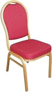 3def6772c Bolero U525 banquetes silla trasera, marco de oro, moteado en arco, gamuza,
