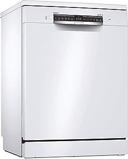 Bosch SMS6ZCW00E Série 6 Lave-vaisselle autonome C 60 cm Blanc 75 kWh/100 cycles 14 MGD SuperSilence Séchage extra Tiroir ...