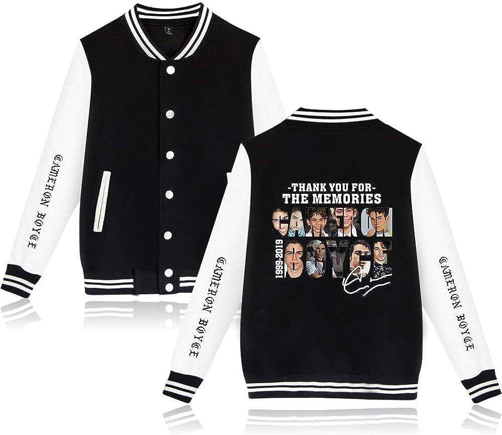 Cameron Boyce Sudadera KPOP Sudadera Baseball Jacket Hip Hop Pullover para Hombres Mujeres