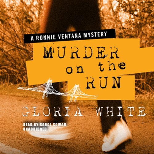 Murder on the Run audiobook cover art