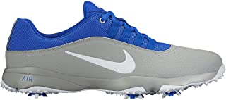 2016 Air Rival 4 Golf Shoes, Wolf Grey/Blue/White, 9 M US