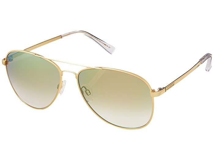 VonZipper Farva (Gold/Green Chrome) Fashion Sunglasses