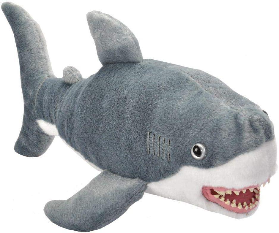 "Wild Republic MAKO SHARK 13/"" Plush Cuddlekins Stuffed Ocean Animal NEW"