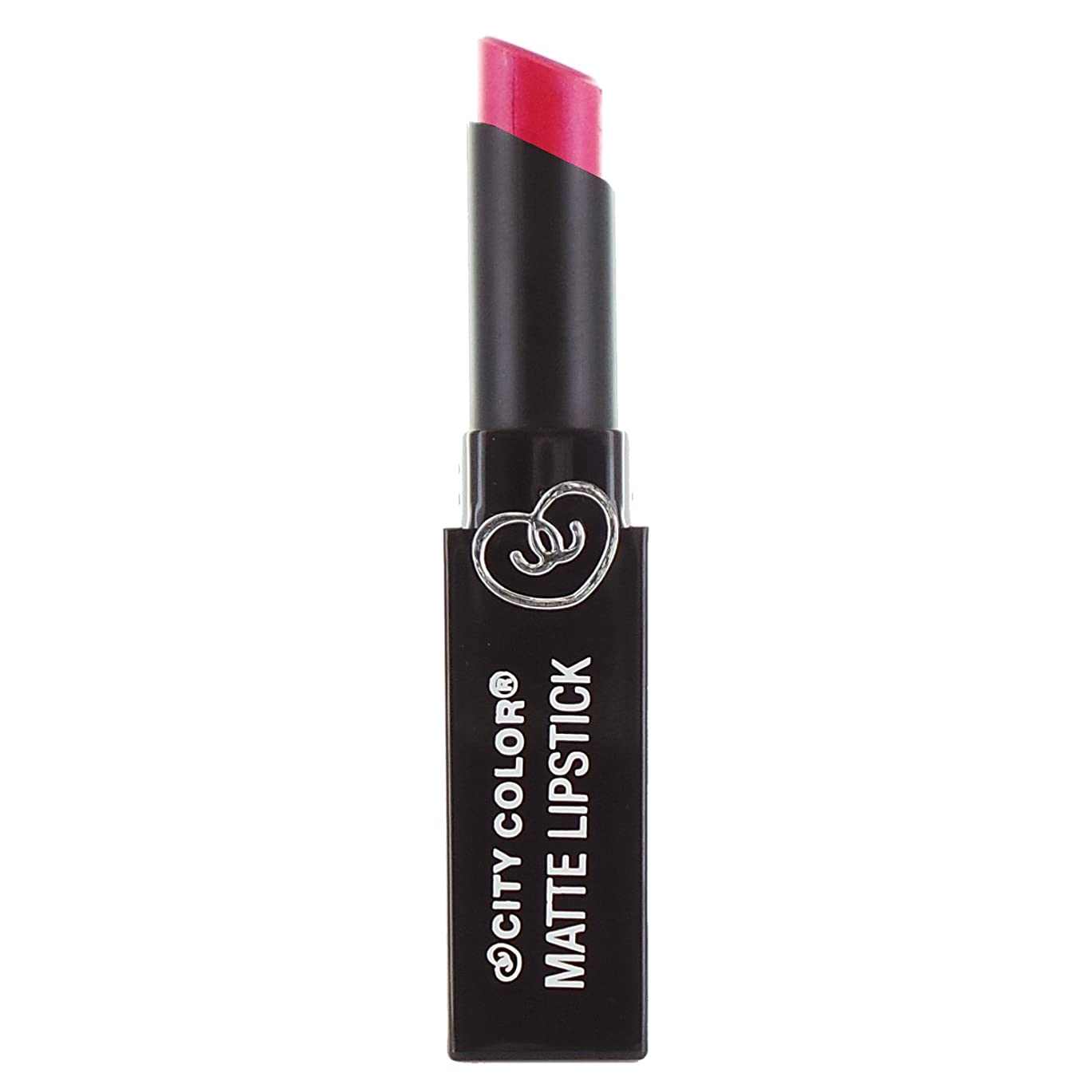 否認するきつくアドバイスCITY COLOR Matte Lipstick L0050C - Shimmer Pink (並行輸入品)