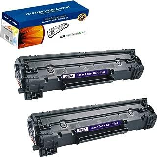 2 Pack HP 285A CE285A HP85A Black Laser Toner Cartridge Compatible with HP Laserjet P1100/P1102/P1102W, Laserjet M1132 / M1210/M1212nf/M1214nfh/M1217nfw/M1218nf/M1219nf, LBP 6000/6018 Printer